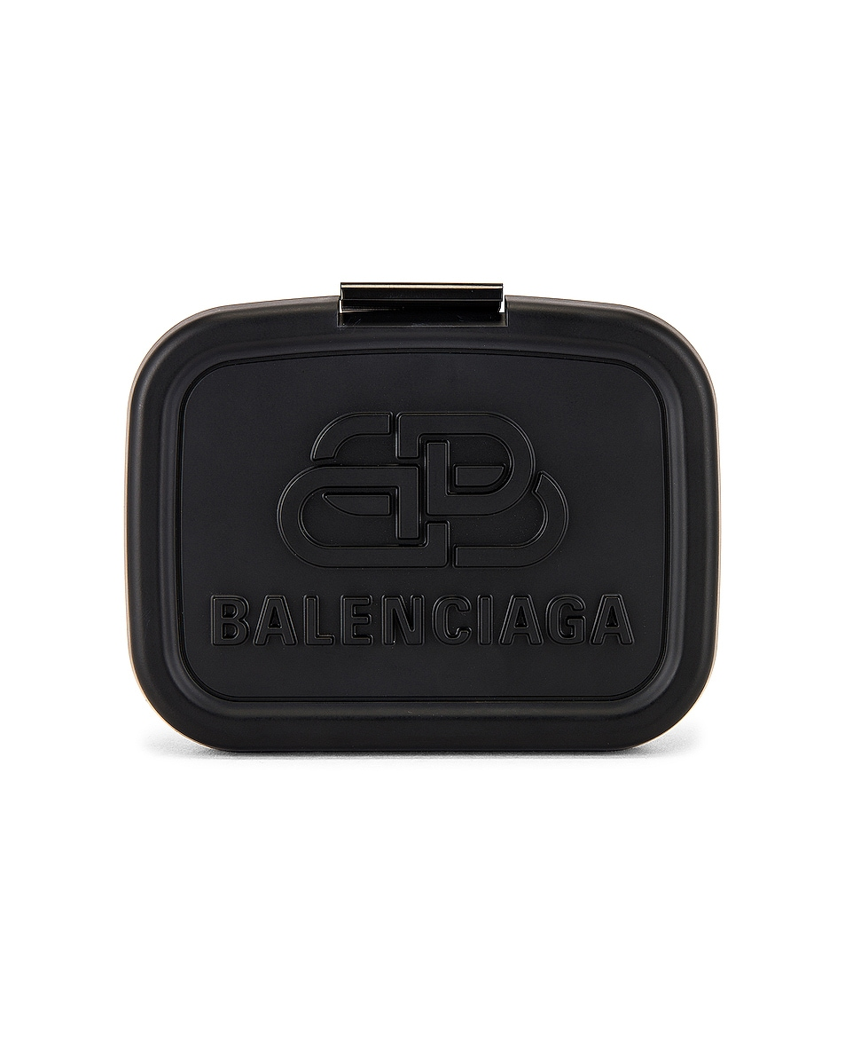 Image 1 of Balenciaga Lunch Box Mini Case in Black
