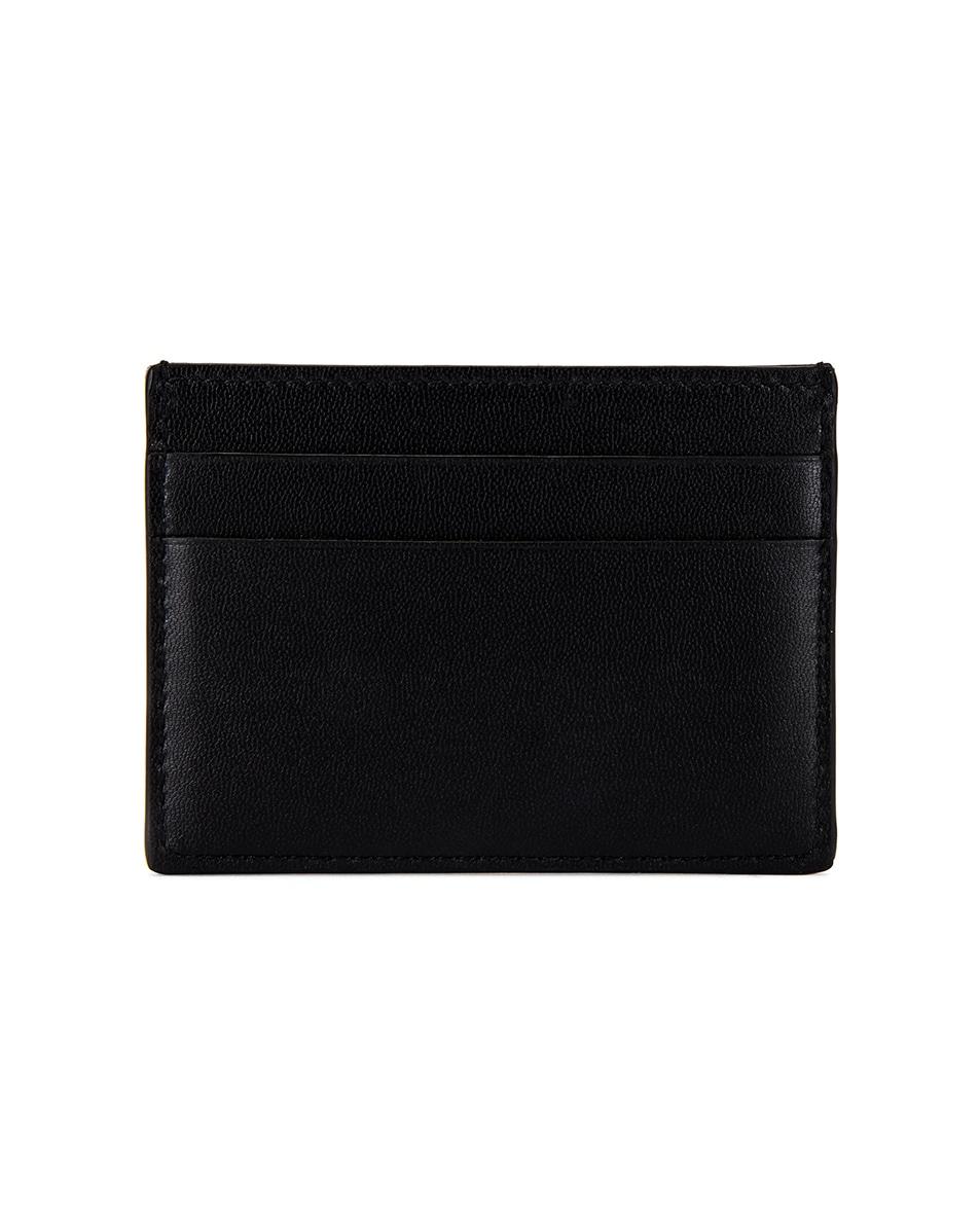 Image 2 of Balenciaga Cash Card Holder in White & Black
