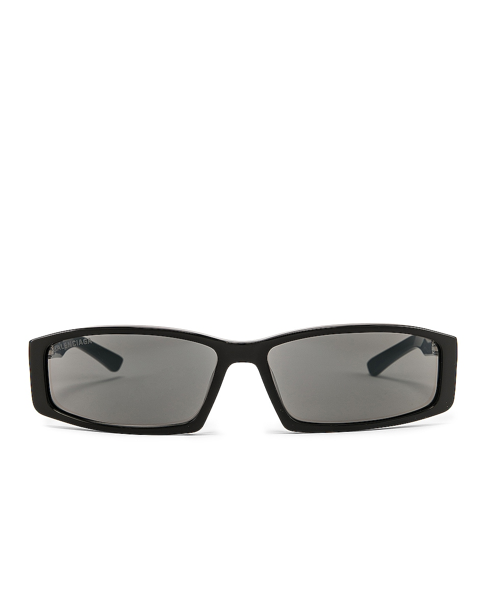 Image 1 of Balenciaga Sunglasses in Shiny Black