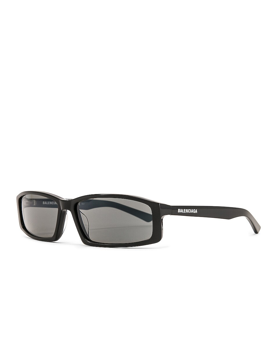 Image 2 of Balenciaga Sunglasses in Shiny Black