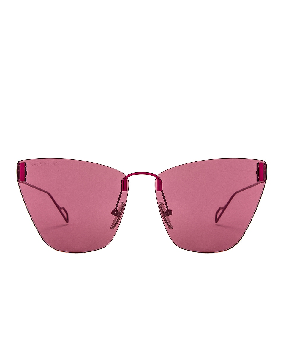 Image 1 of Balenciaga Cat Eye Sunglasses in Purple