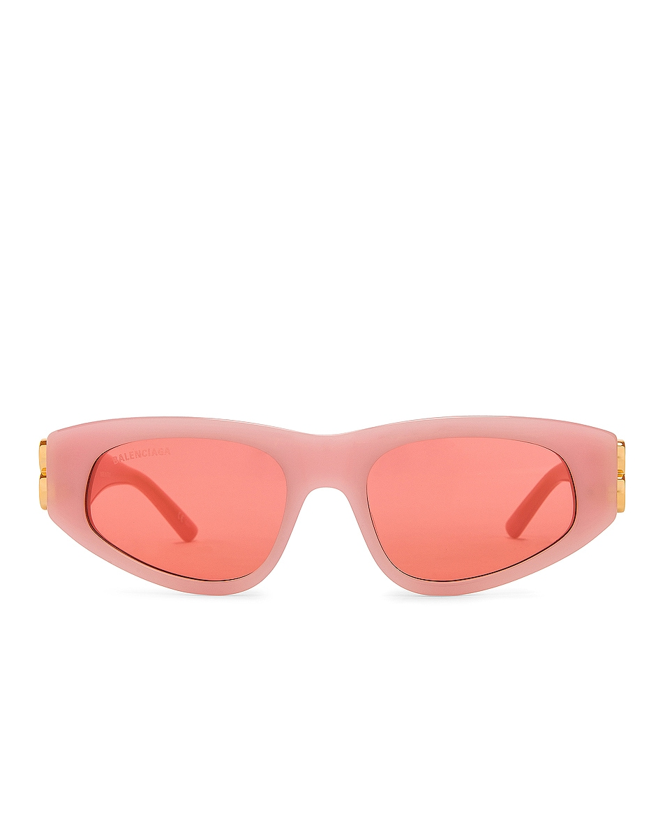 Image 1 of Balenciaga Acetate Sunglasses in Light Pink