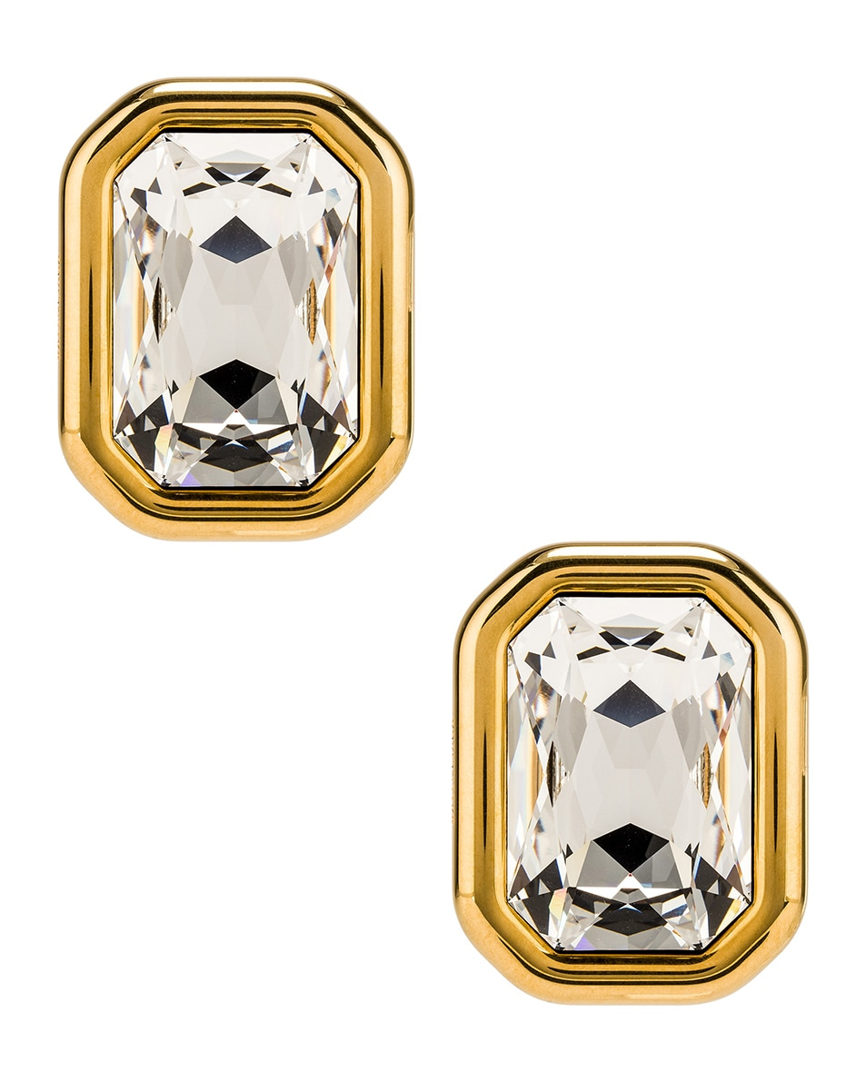 Image 1 of Balenciaga Dallas XL Earrings in Gold