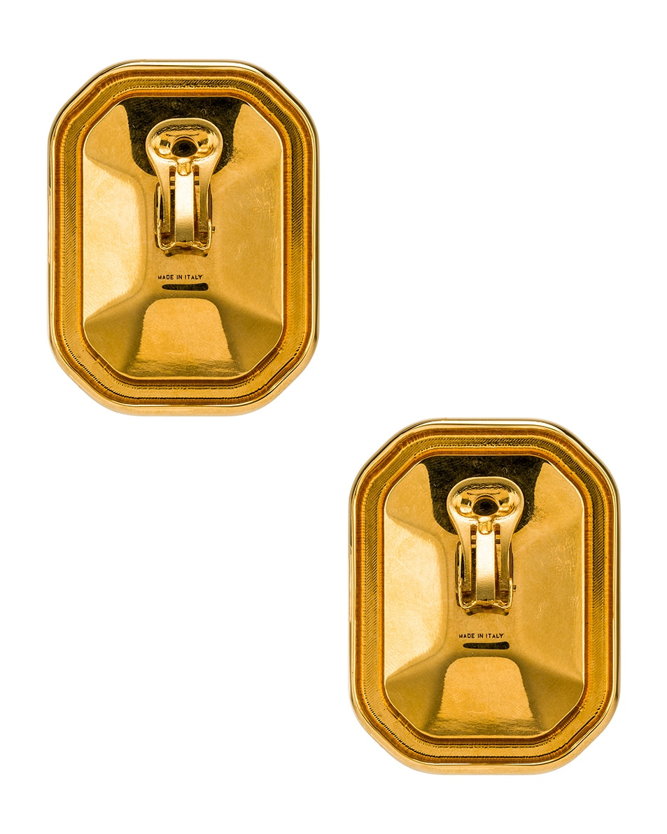 Image 4 of Balenciaga Dallas XL Earrings in Gold