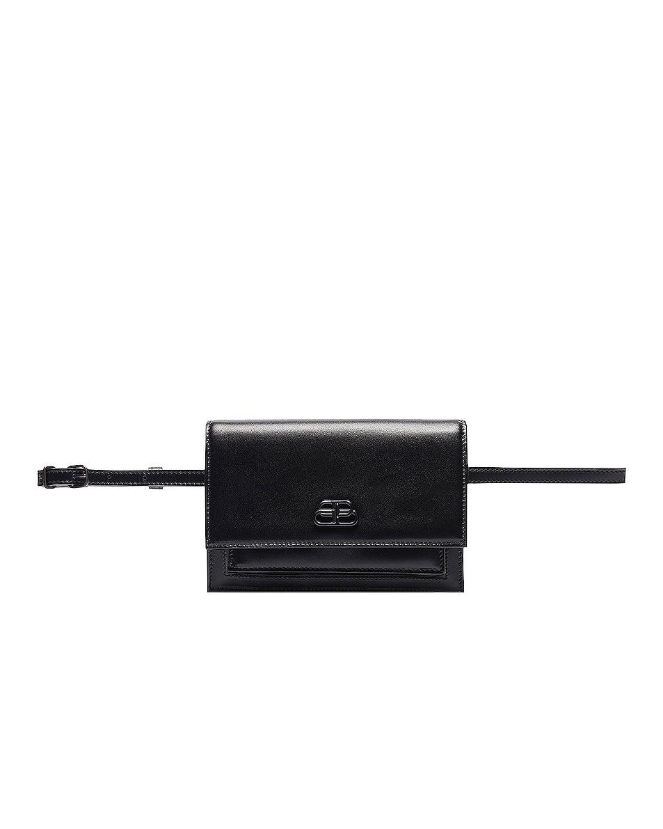 Image 2 of Balenciaga XS Sharp Belt Bag in Black