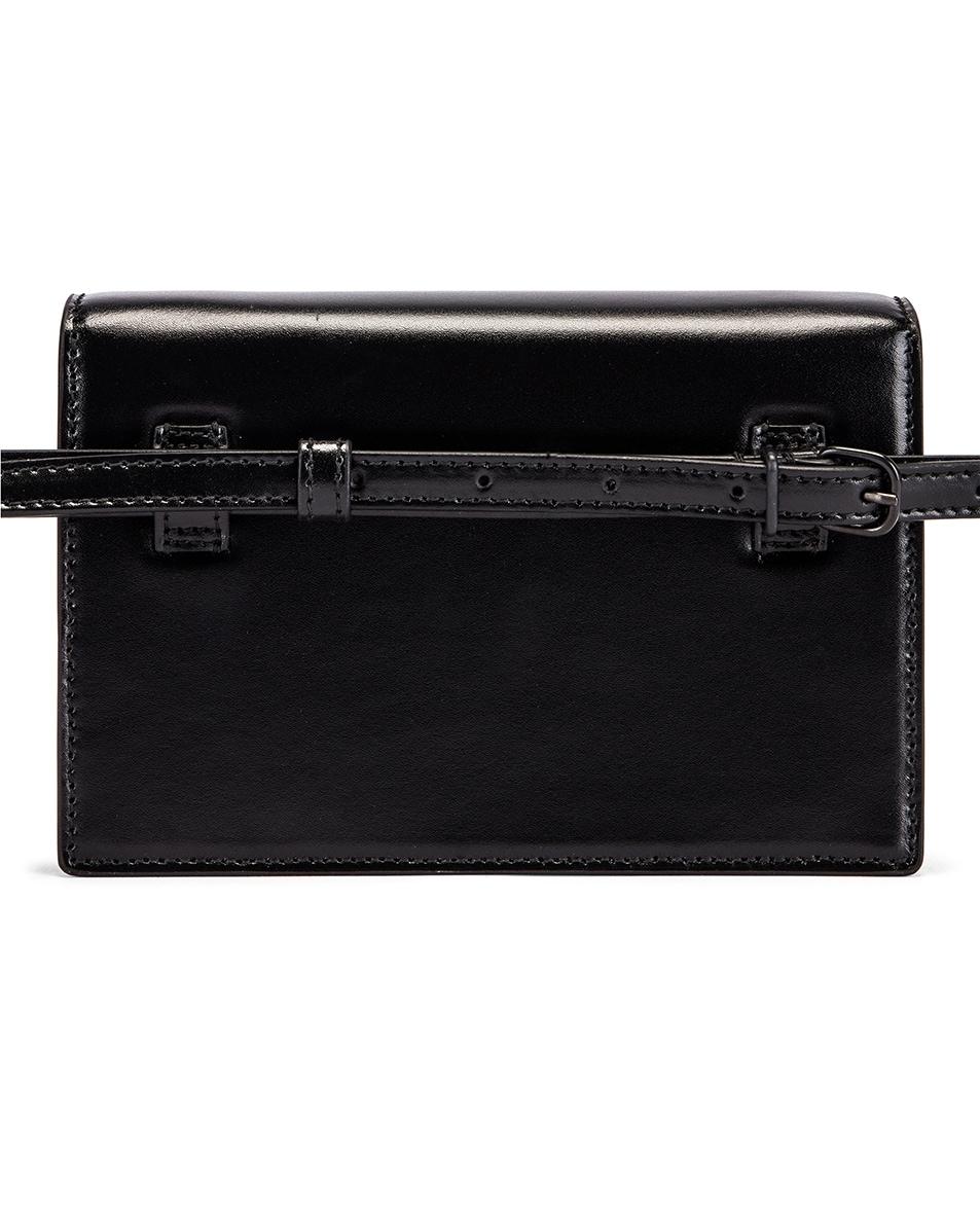 Image 3 of Balenciaga XS Sharp Belt Bag in Black