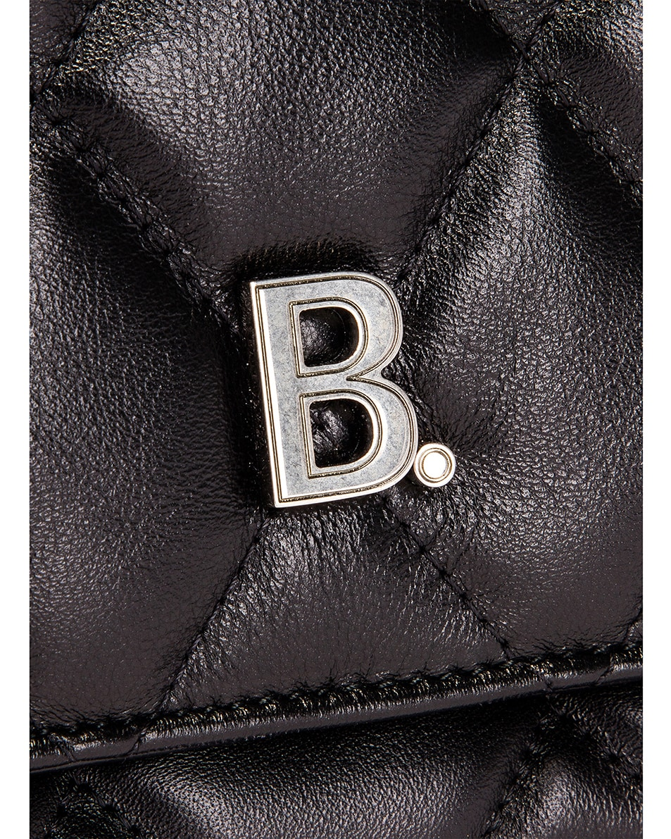 Image 8 of Balenciaga Large B Shoulder Bag in Black