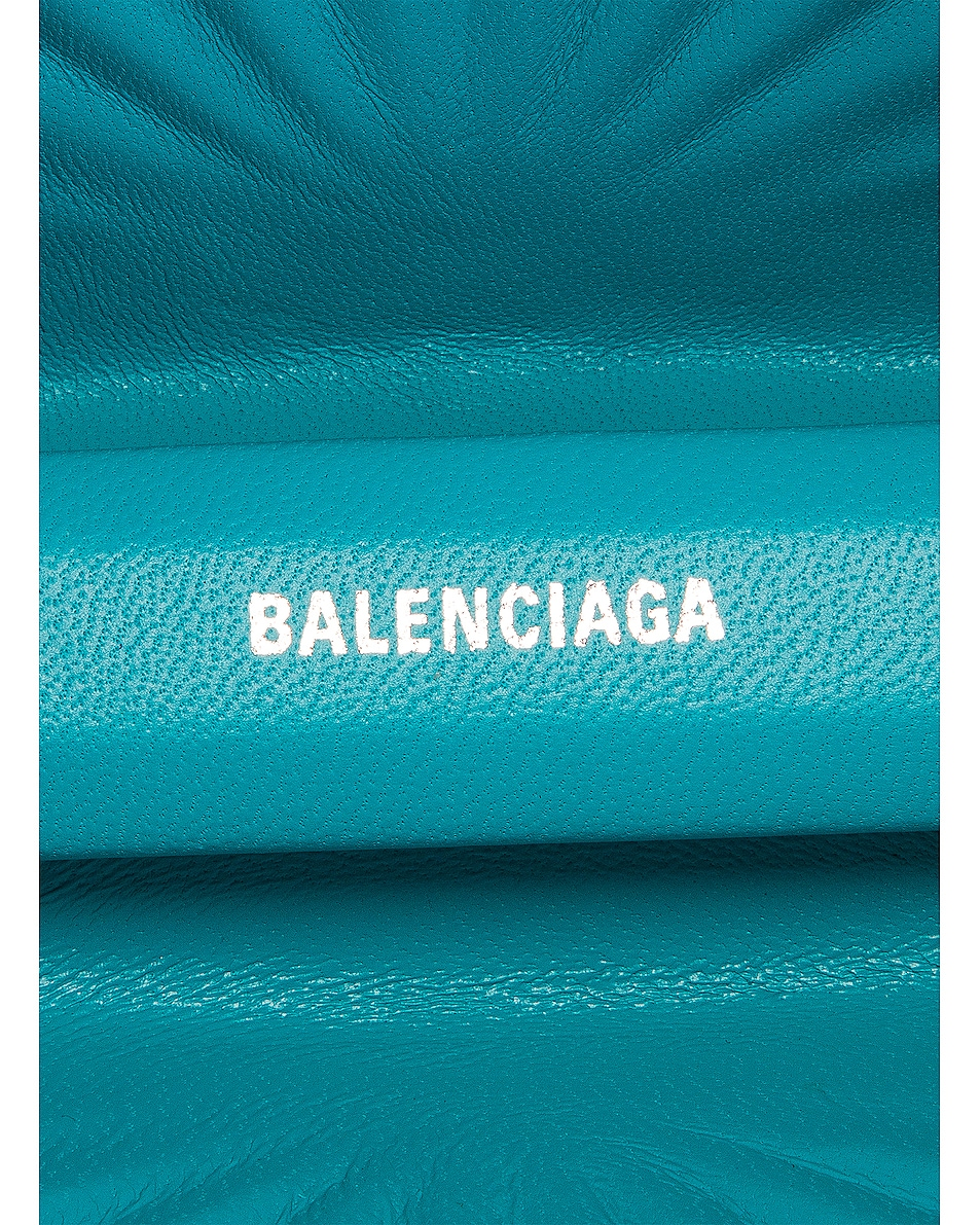 Image 7 of Balenciaga Shell Beads Clutch in Turquoise