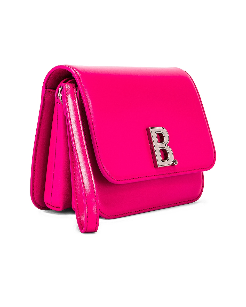 Image 4 of Balenciaga Small B Bag in Acid Fuchsia