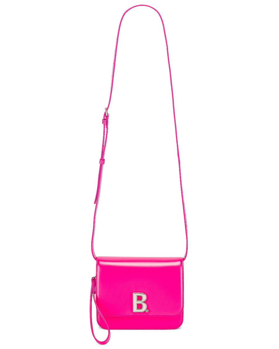 Image 6 of Balenciaga Small B Bag in Acid Fuchsia