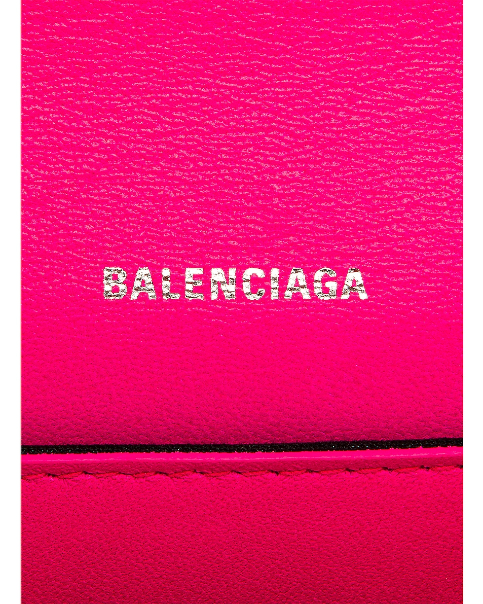Image 7 of Balenciaga Small B Bag in Acid Fuchsia
