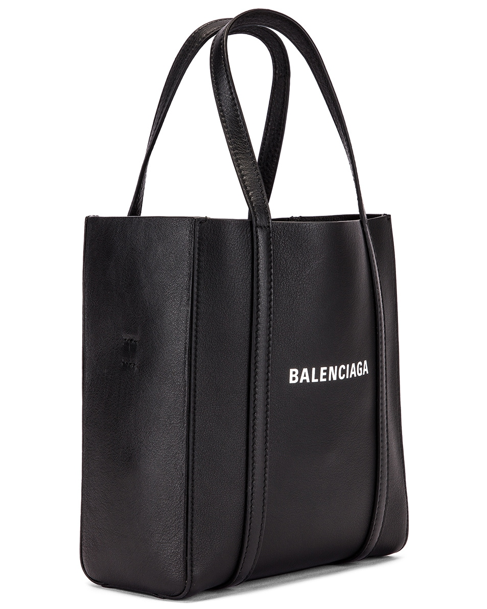 Image 4 of Balenciaga XXS Everyday Tote Bag in Black & White