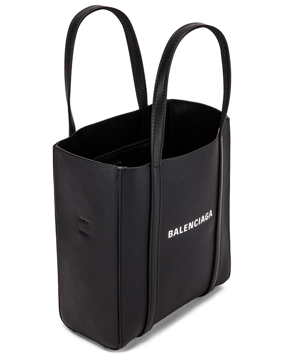 Image 5 of Balenciaga XXS Everyday Tote Bag in Black & White