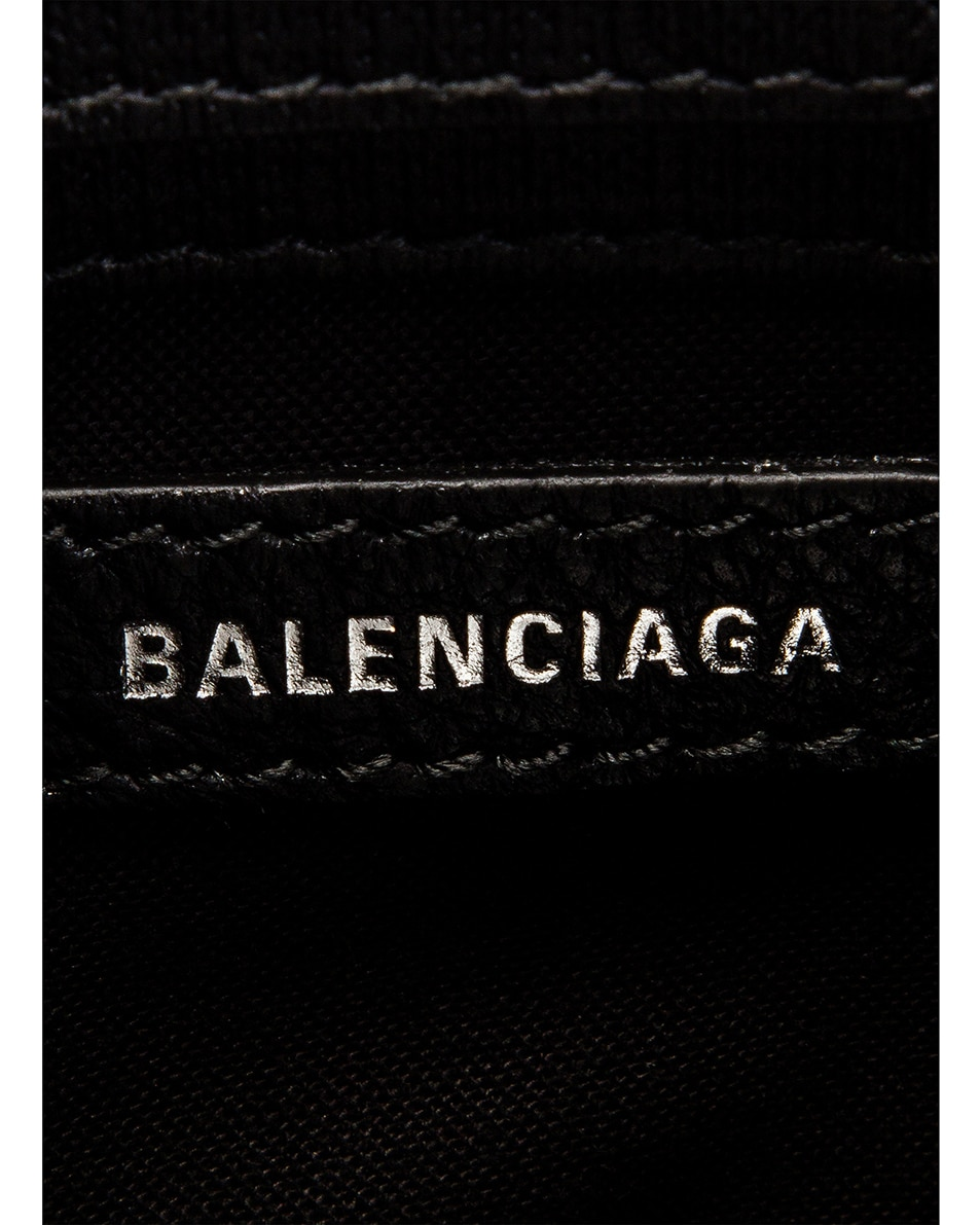 Image 7 of Balenciaga Shopping Phone on Strap Bag in Black