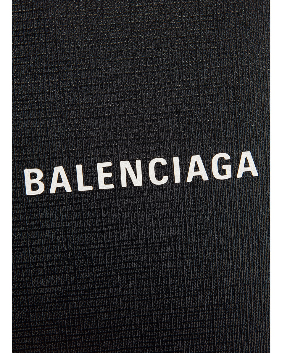 Image 8 of Balenciaga Shopping Phone on Strap Bag in Black
