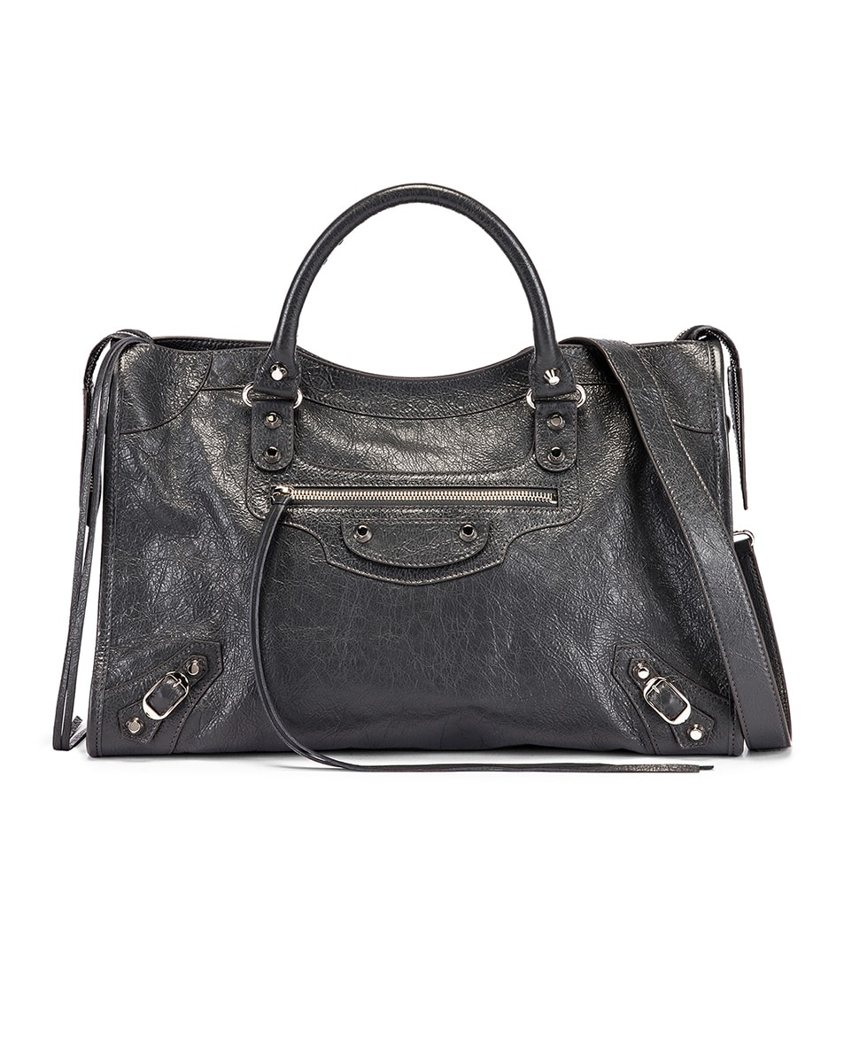 Image 1 of Balenciaga Classic City Bag in Grey