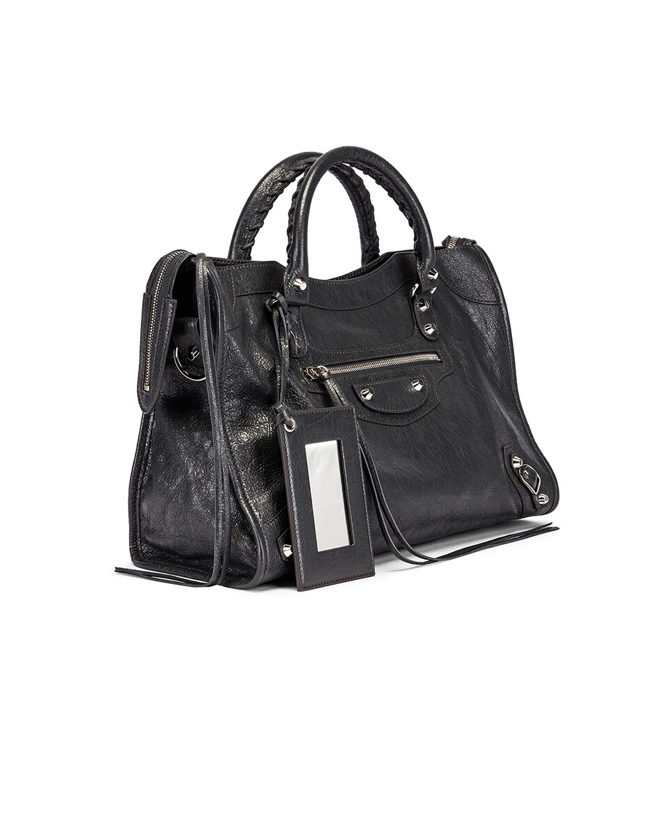 Image 4 of Balenciaga Classic City Bag in Grey
