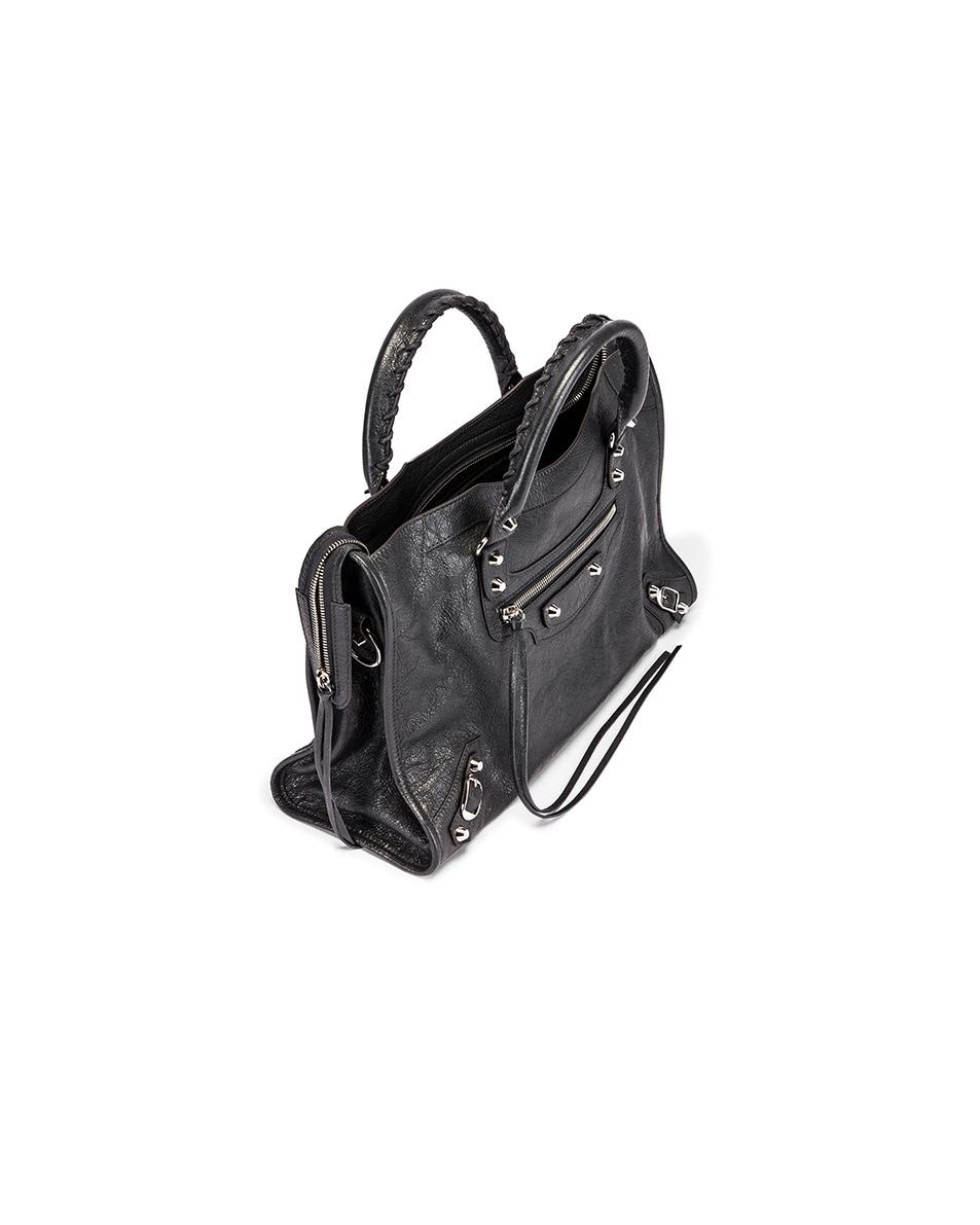 Image 5 of Balenciaga Classic City Bag in Grey