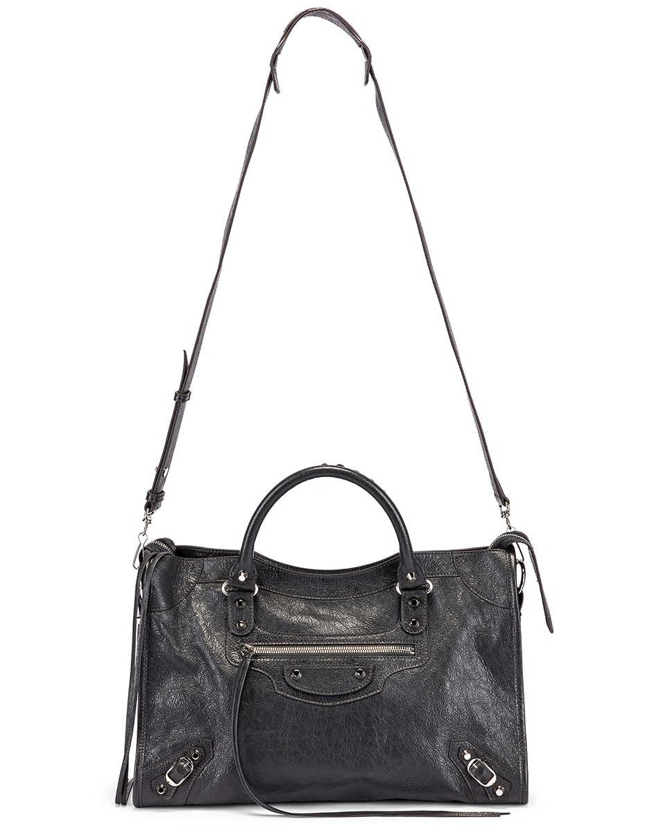 Image 6 of Balenciaga Classic City Bag in Grey