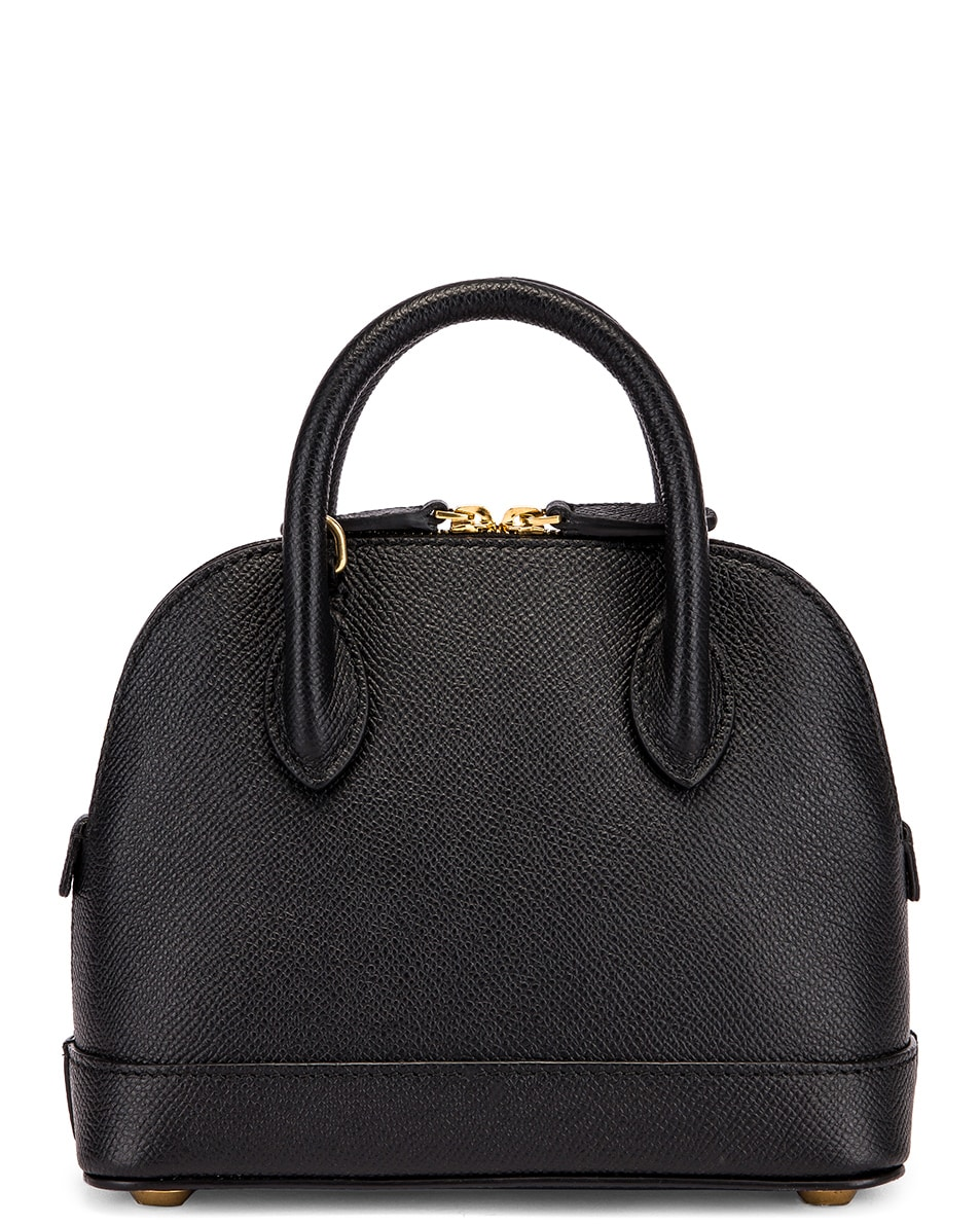Image 3 of Balenciaga XXS Ville Top Handle Bag in Black & White