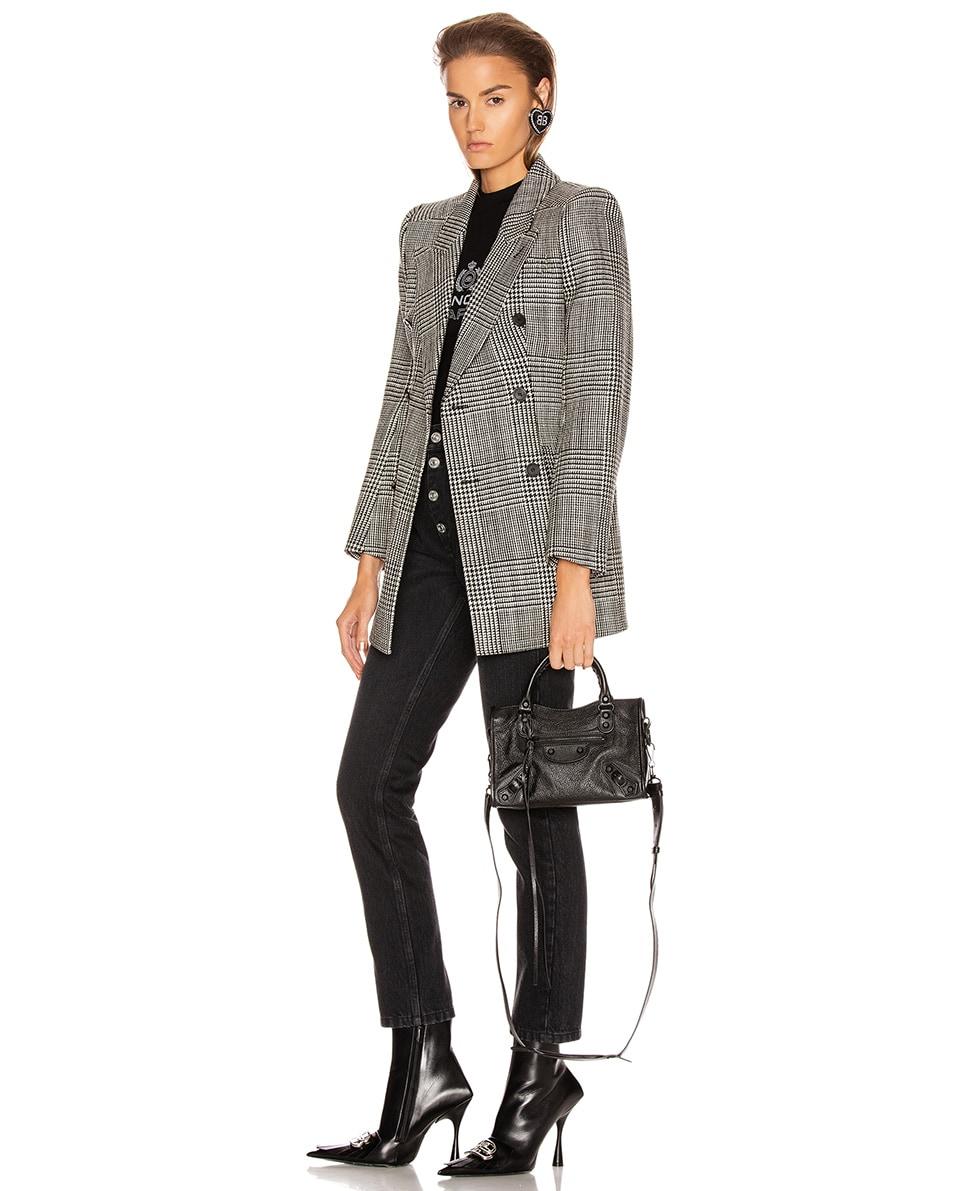 Image 2 of Balenciaga Mini Leather City Bag in Black