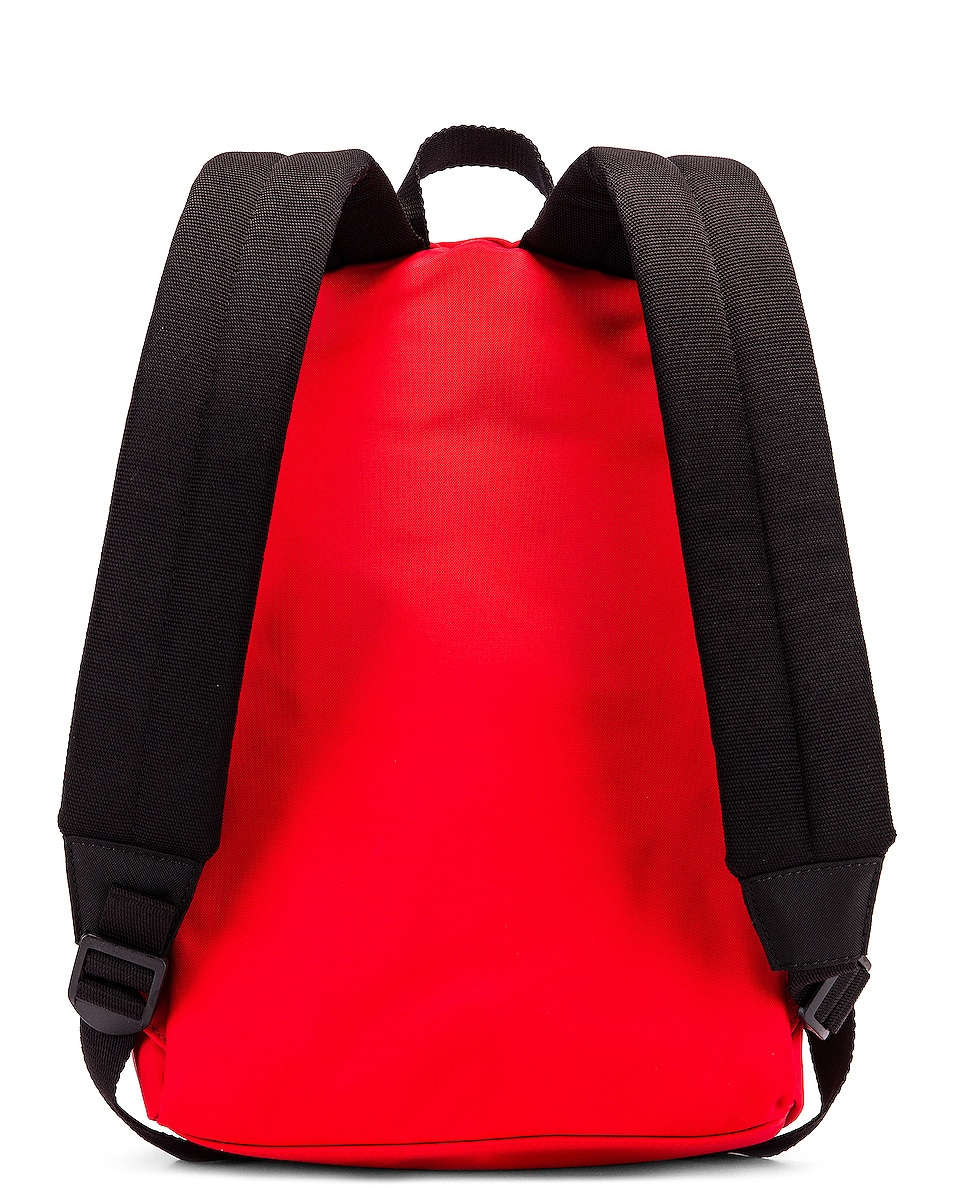 Image 3 of Balenciaga Small Wheel Backpack in Bright Red & Black