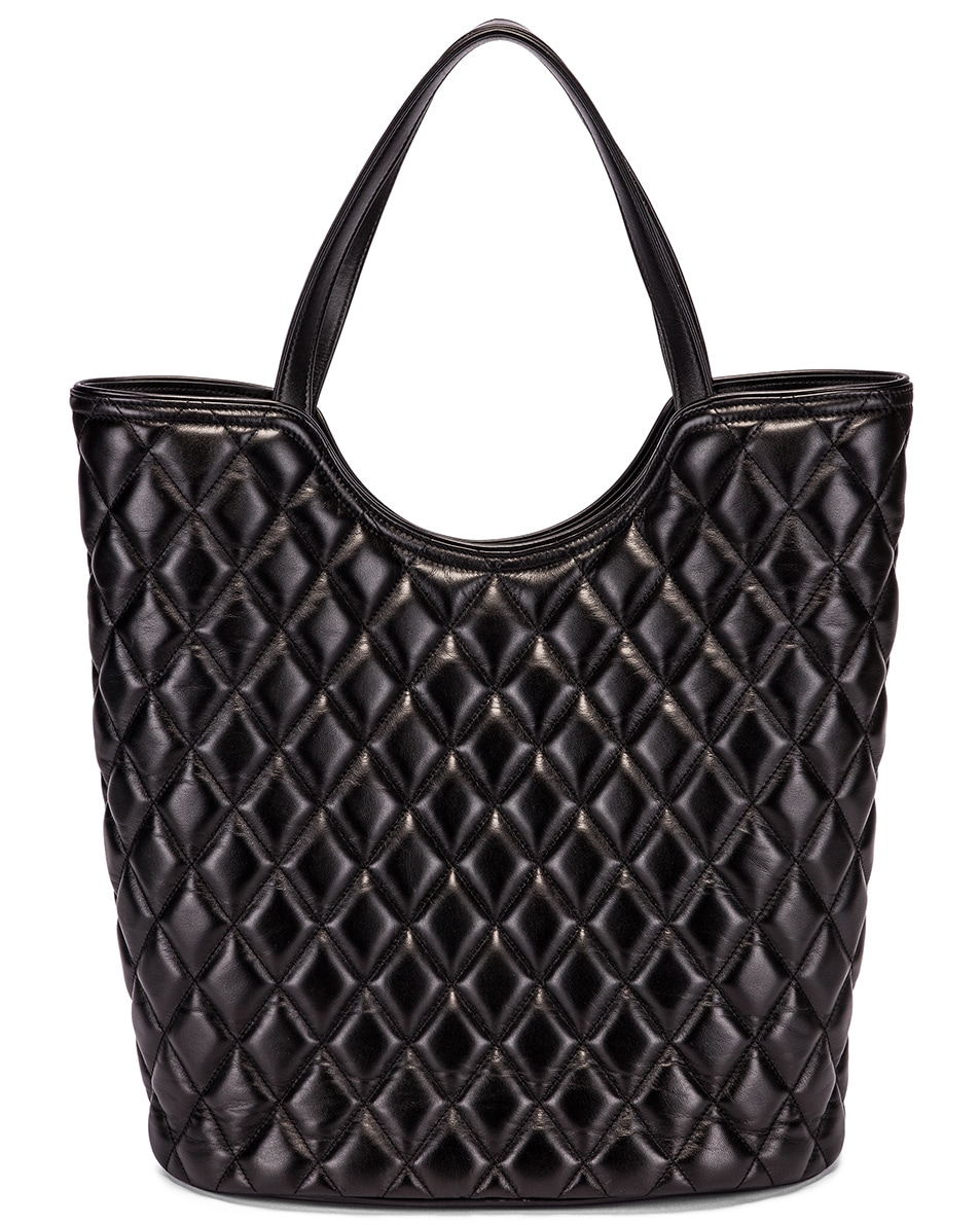 Image 3 of Balenciaga Large Wave Tote in Black