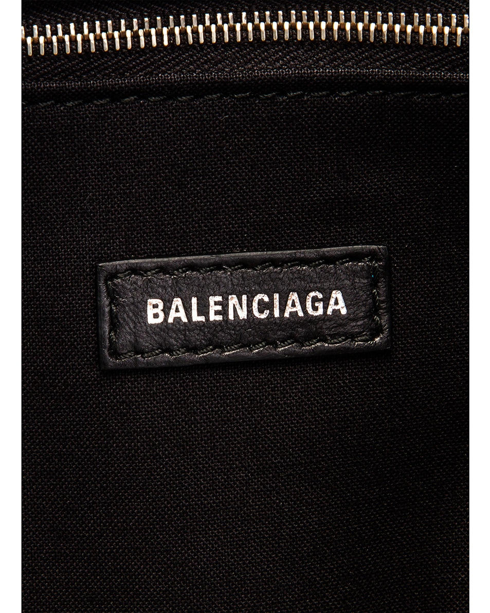 Image 6 of Balenciaga Large Wave Tote in Black