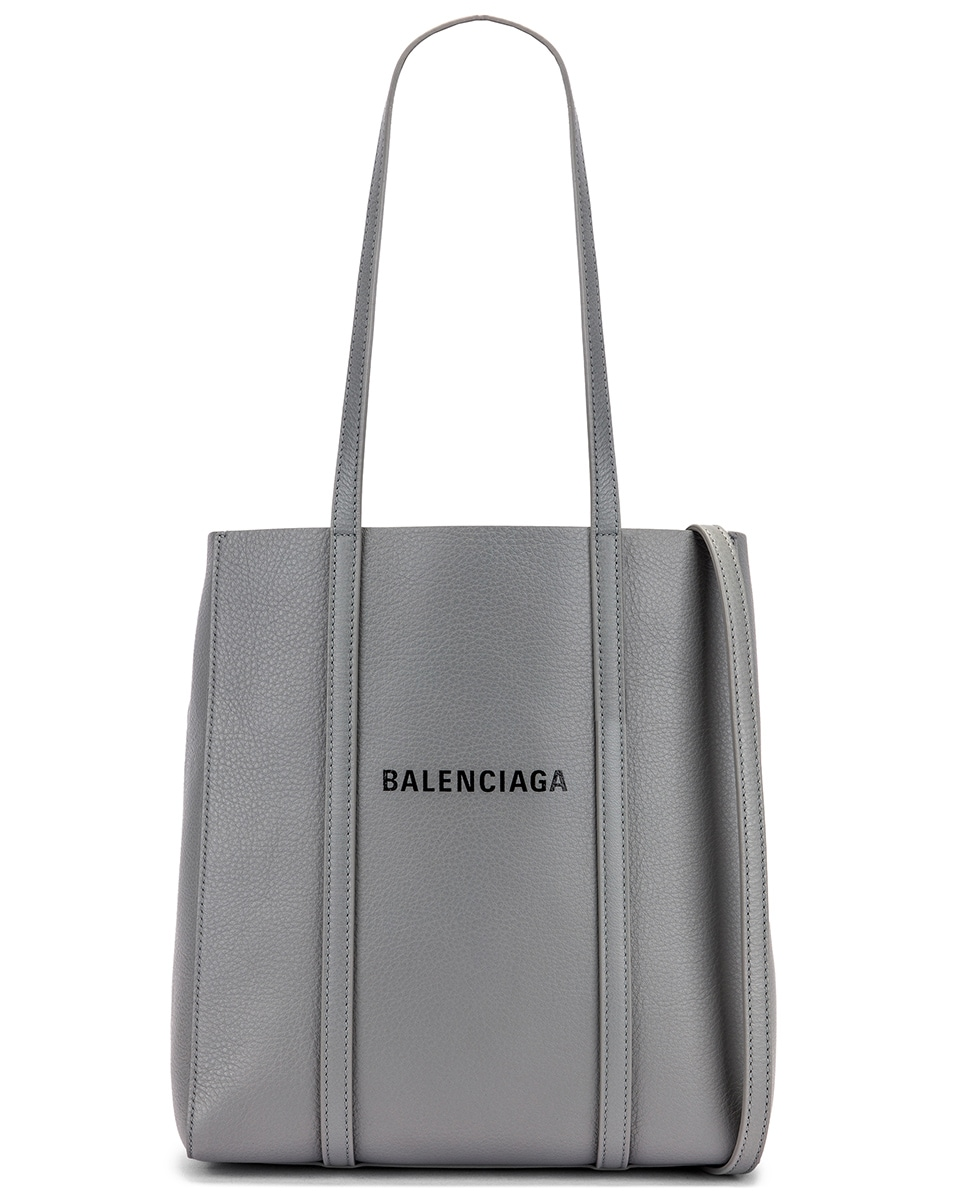 Image 1 of Balenciaga XS Everyday Tote Bag in Balenciaga Grey & Black