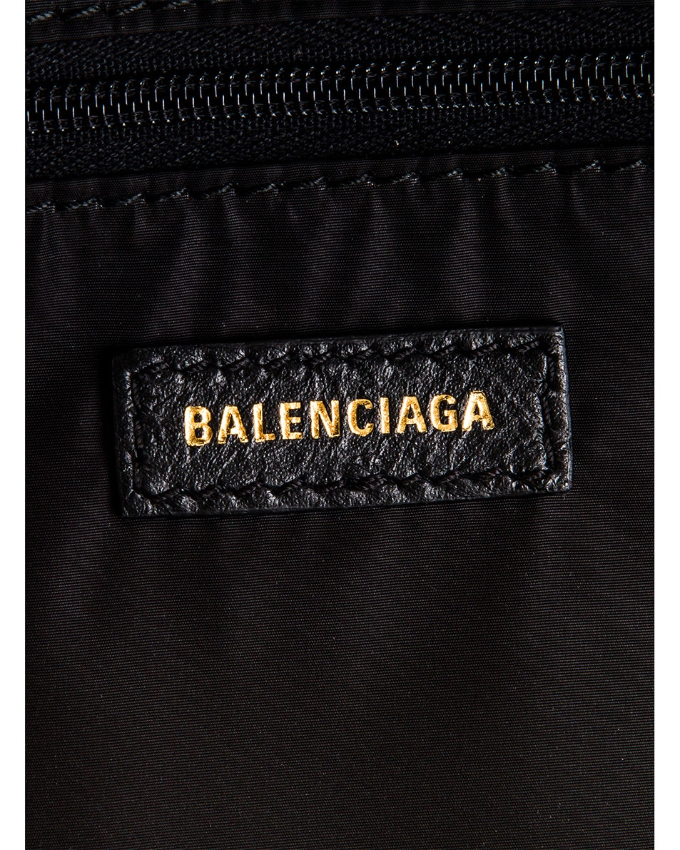Image 6 of Balenciaga Small Wheel Backpack in Black & Black