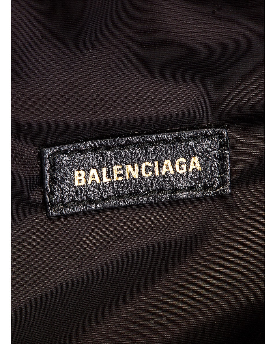Image 6 of Balenciaga S Wheel Logo Belt Bag in Bright Red & Black