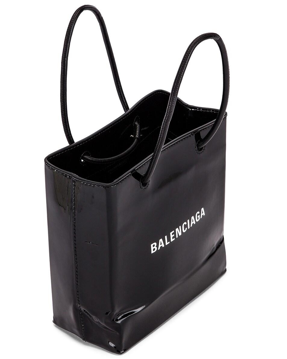 Image 5 of Balenciaga XXS Shopping Tote Bag in Black