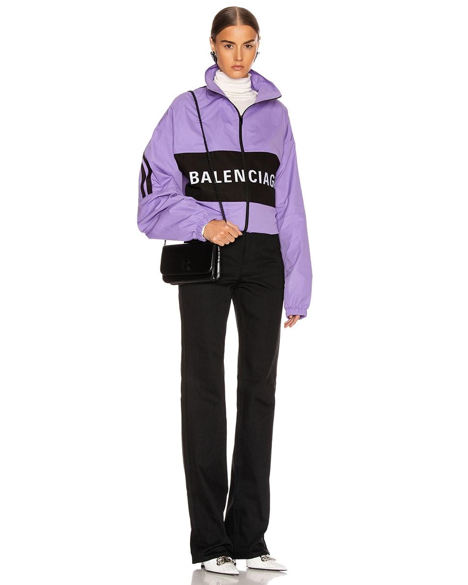 Image 2 of Balenciaga B Wallet on Chain Bag in Black