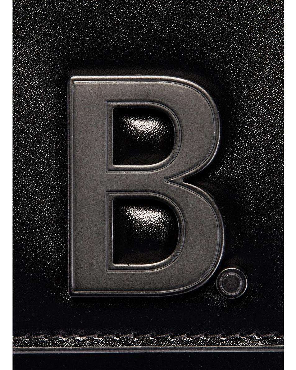 Image 8 of Balenciaga B Wallet on Chain Bag in Black