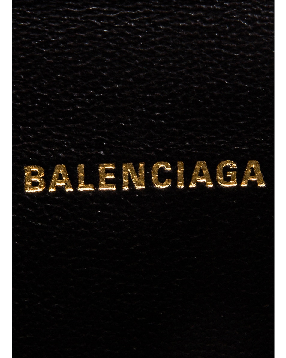 Image 6 of Balenciaga XXS Sharp Belt Bag in Black