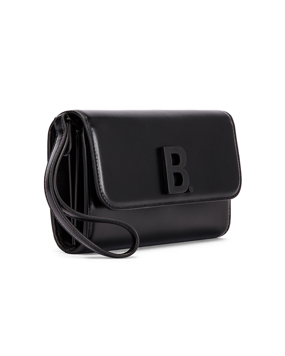Image 3 of Balenciaga B Continental Chain Bag in Black