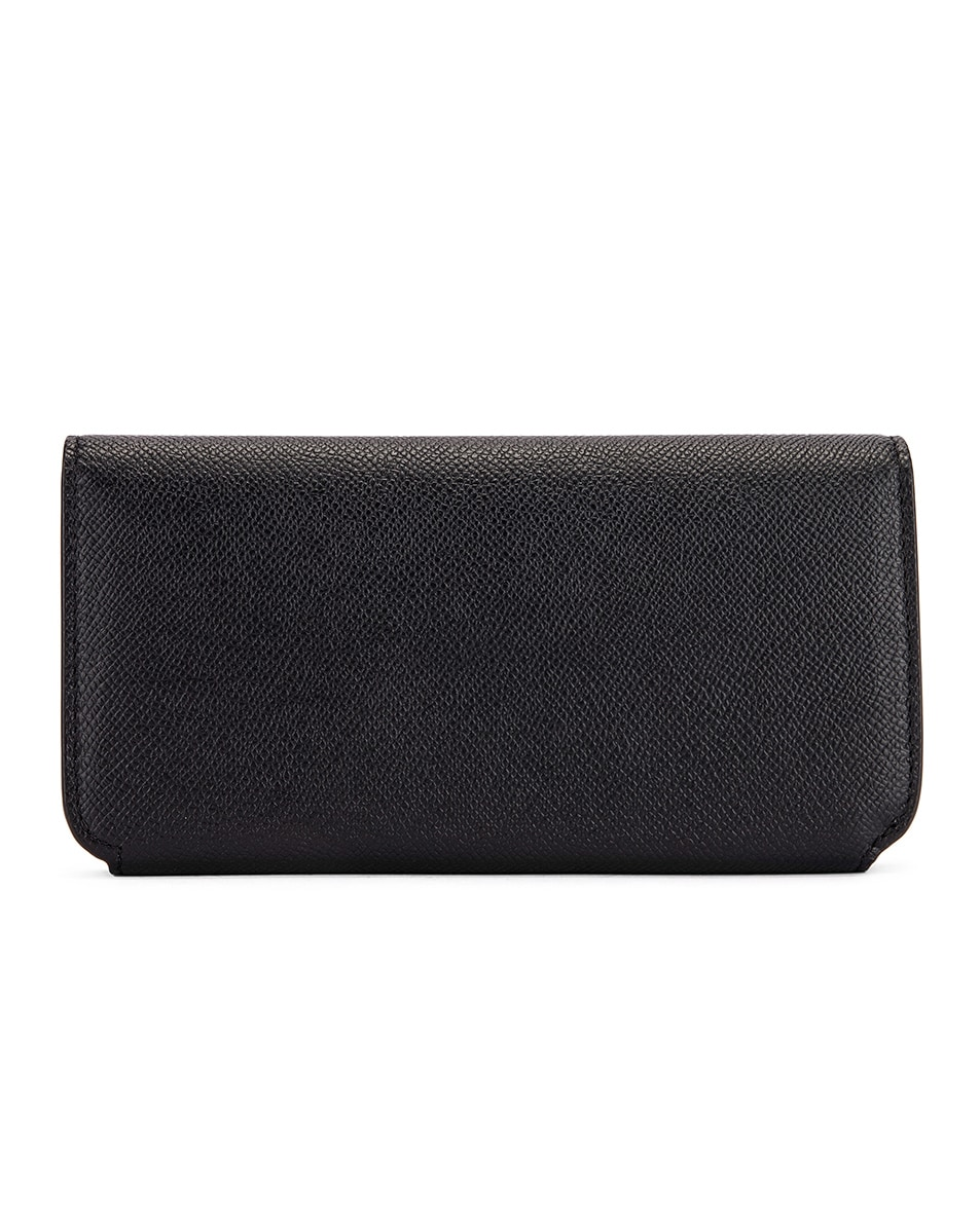 Image 2 of Balenciaga BB Thin Money Wallet in Black