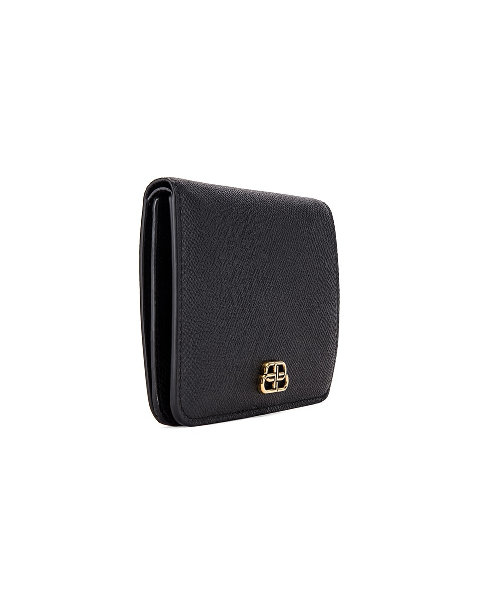 Image 3 of Balenciaga Medium Cash Wallet in Black