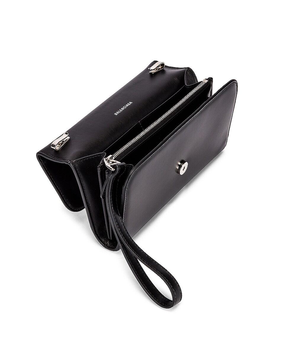Image 5 of Balenciaga B Continental Chain Bag in Black