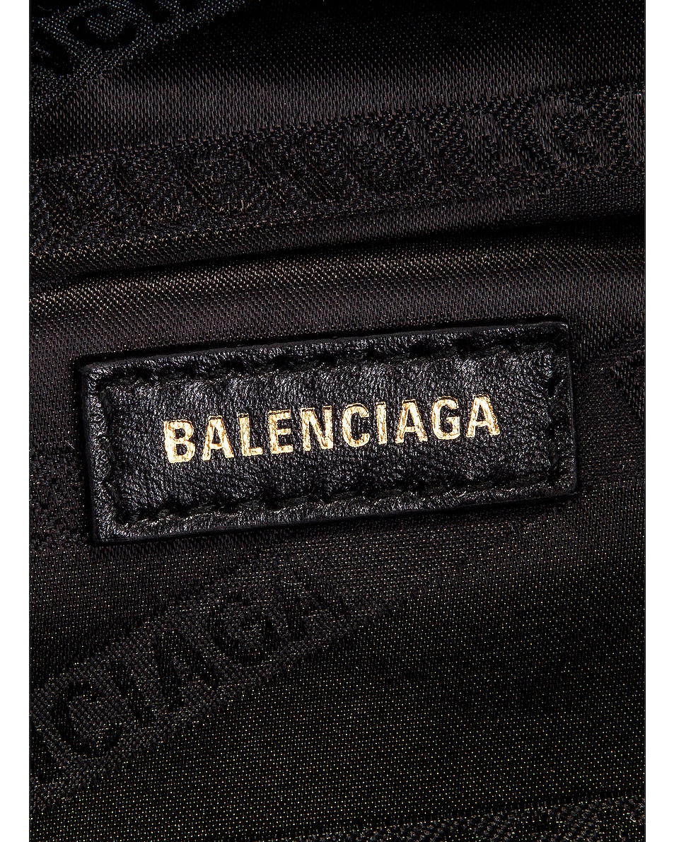 Image 6 of Balenciaga XXS Souvenir Charm Bag in Acid Fuchsia