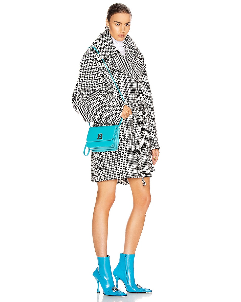 Image 2 of Balenciaga Small B Bag in Turquoise