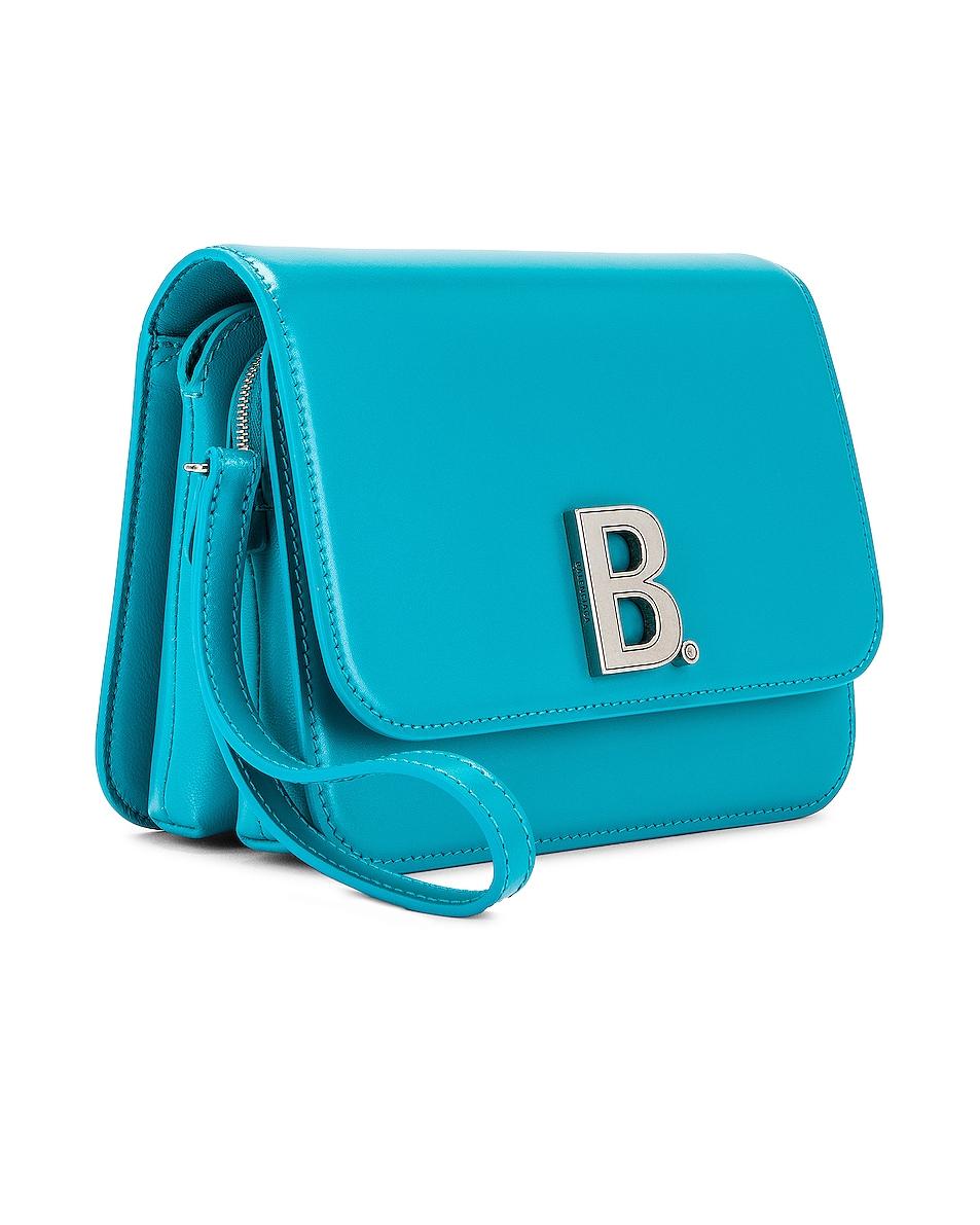 Image 4 of Balenciaga Small B Bag in Turquoise
