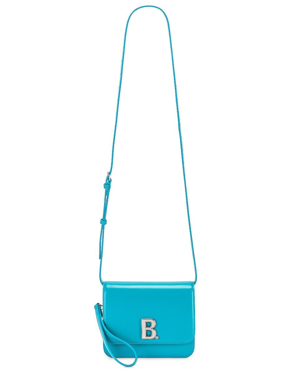 Image 6 of Balenciaga Small B Bag in Turquoise