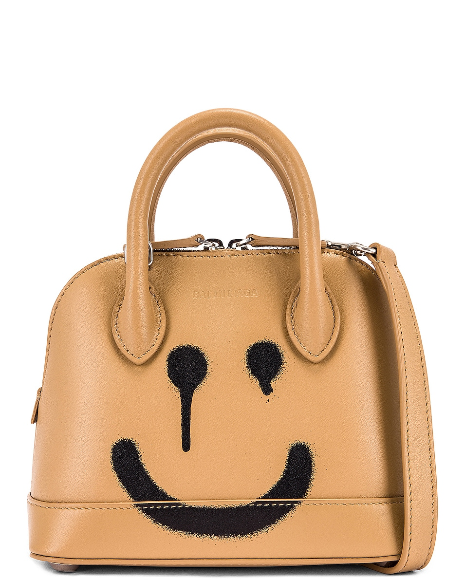 Image 1 of Balenciaga XXS Happy Ville Top Handle Bag in Beige