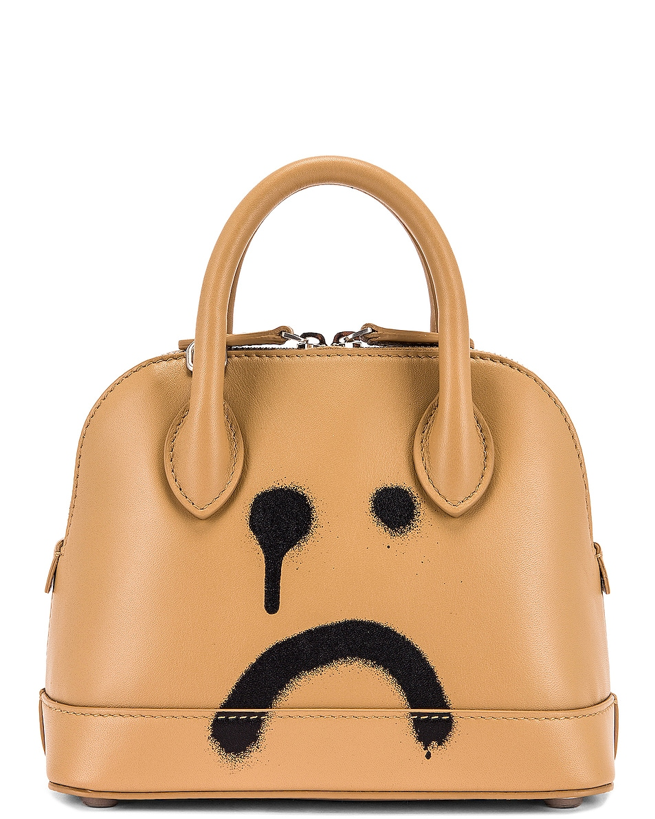 Image 3 of Balenciaga XXS Happy Ville Top Handle Bag in Beige