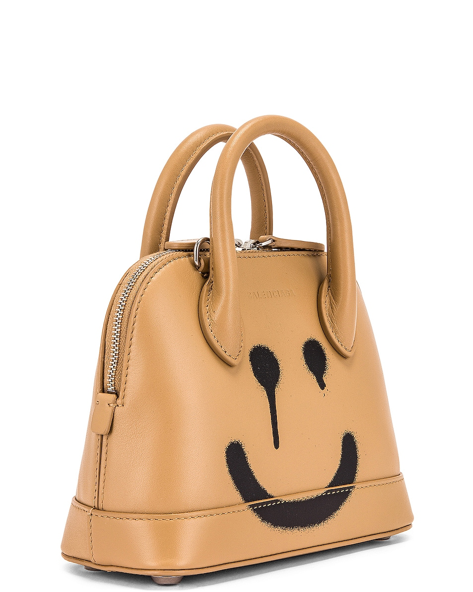 Image 4 of Balenciaga XXS Happy Ville Top Handle Bag in Beige