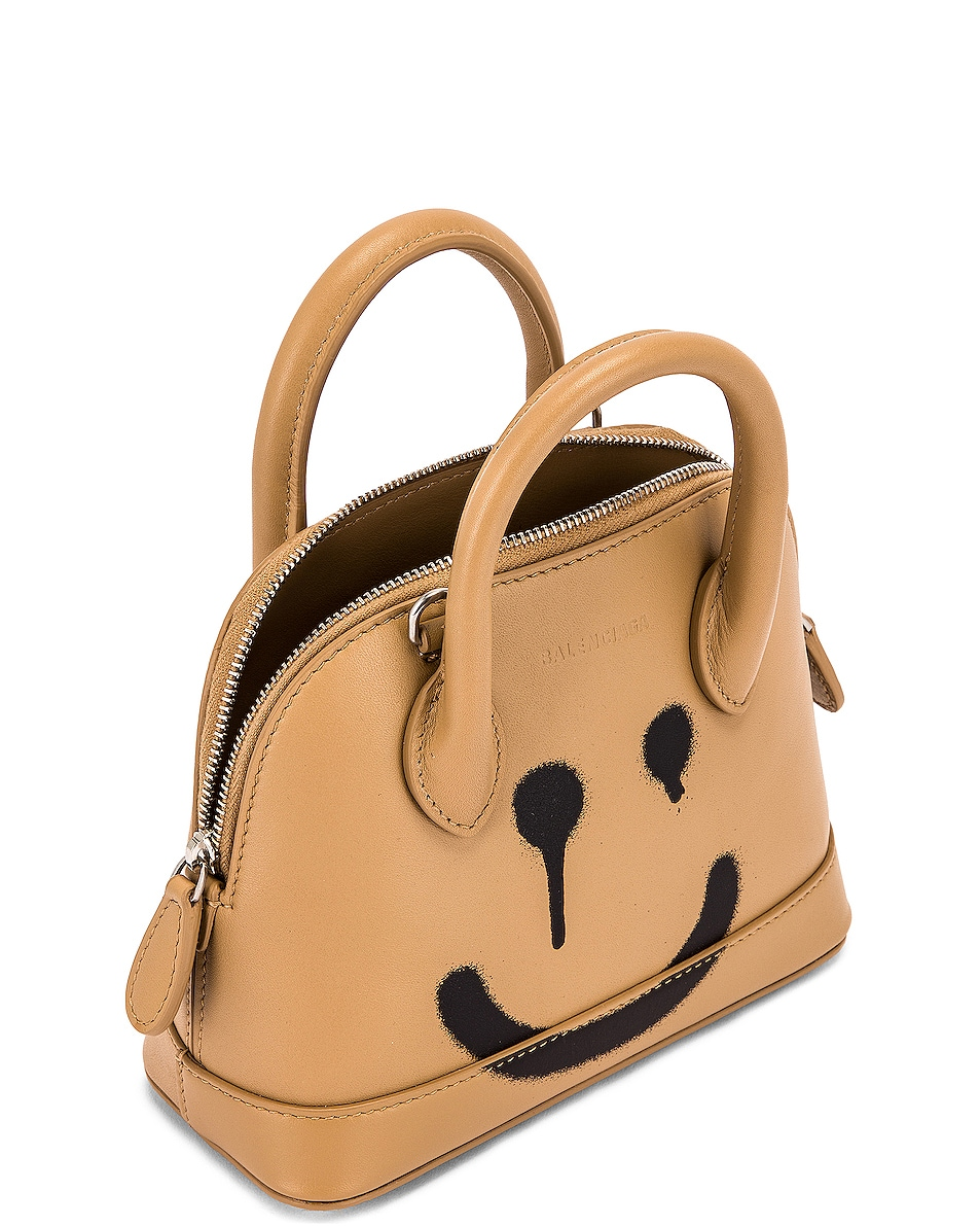 Image 5 of Balenciaga XXS Happy Ville Top Handle Bag in Beige