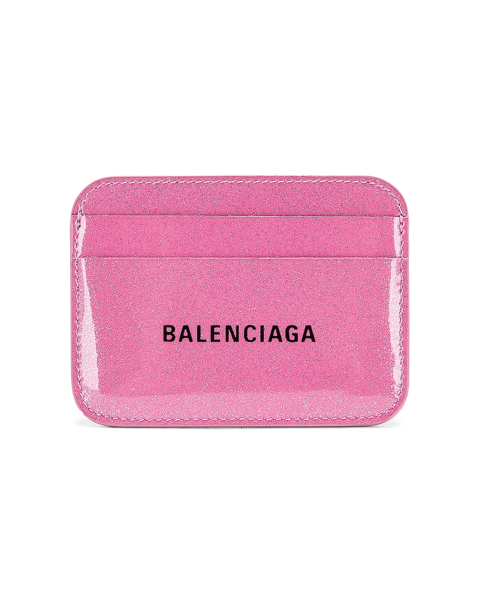 Balenciaga Bags Glitter BB Card Holder