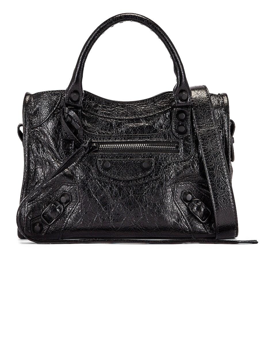 Image 1 of Balenciaga Mini Classic City Bag in Black