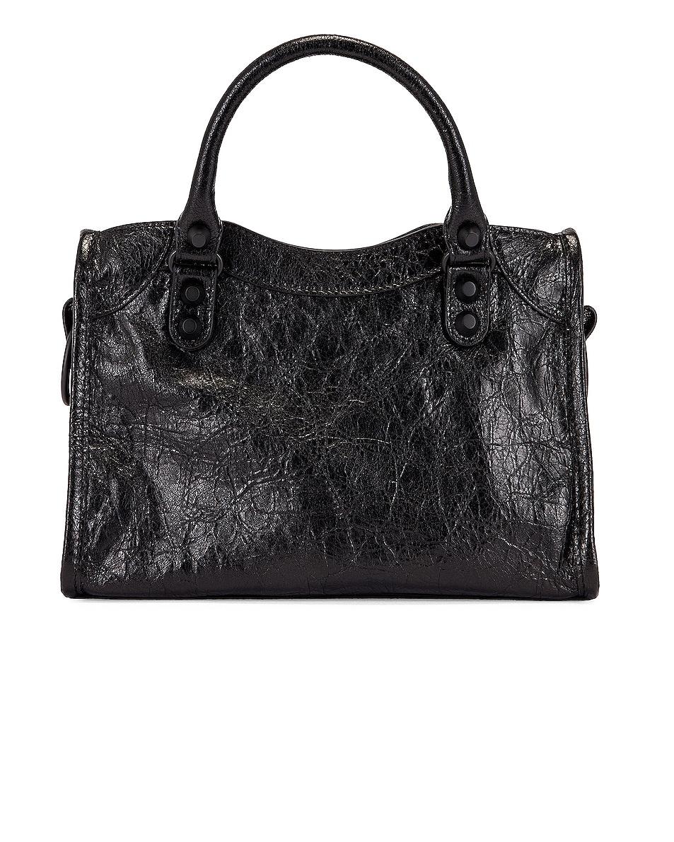 Image 3 of Balenciaga Mini Classic City Bag in Black